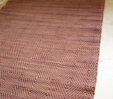 Дизайнерский домотканый коврик