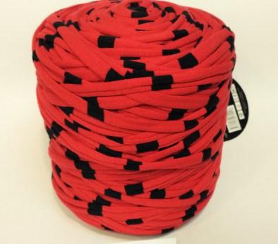 Красная - черная (пестрая) / код 1016