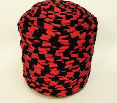 Красно-черная (пестрая) / код 1017