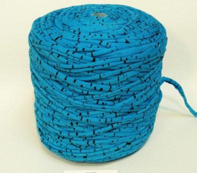 Голубая в крапинку (пестрая) / код 5002