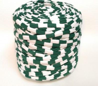 Темно-зеленая и белая (пестрая) / код 4003