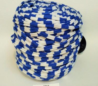 Голубая - белая (пестрая) / код 5013