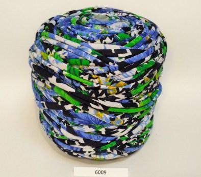 Голубая-зеленая-черная (пестрая) / код 6009