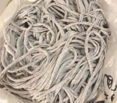Трикотажная пряжа (сырье) - серый меланж